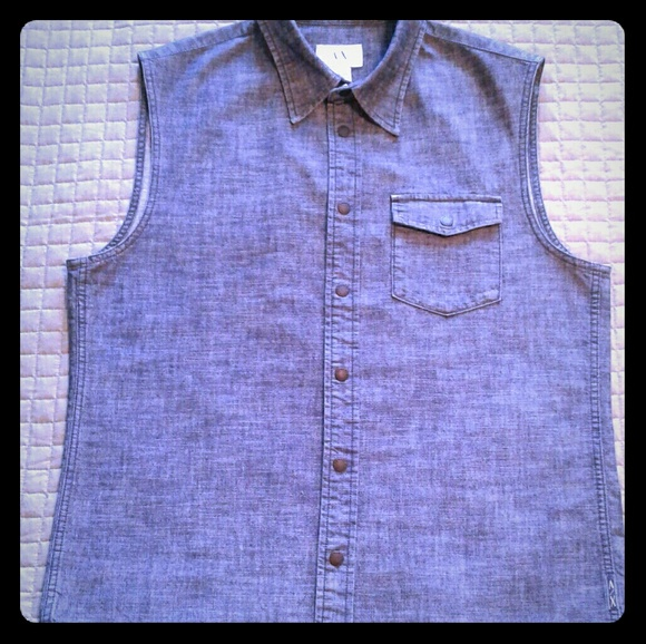 Armani Exchange Other - Armani Exchange Denim Vest